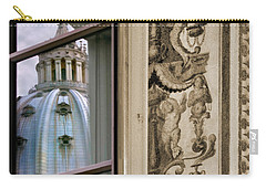 St Peter's Dome Reflected.rome Carry-all Pouch by Jennie Breeze