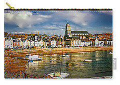 Carry-all Pouch featuring the photograph Saint Servan Anse by Elf Evans
