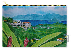 St. Thomas Virgin Islands Carry-all Pouch by Frank Hunter