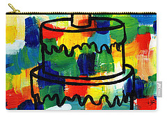 Stl250 Birthday Cake Abstract Carry-all Pouch