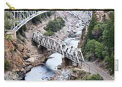 Stacked Bridges Carry-all Pouch by Holly Blunkall