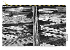 Stacked Fence Carry-all Pouch by Lynn Palmer