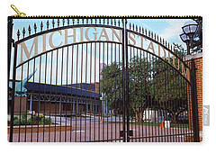 Stadium Of A University, Michigan Carry-all Pouch
