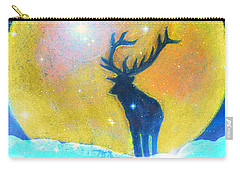 Stag Of Winter Carry-all Pouch