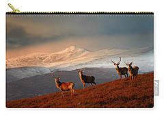 Stags At Strathglass Carry-all Pouch