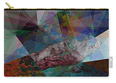 Stain Glass I Carry-all Pouch by David Bridburg