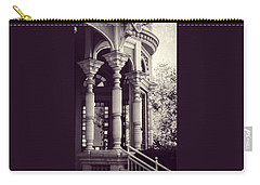 Carry-all Pouch featuring the photograph Stained Glass Memories by Melanie Lankford Photography