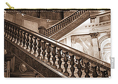 Staircase In Brown Carry-all Pouch