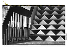 Carry-all Pouch featuring the photograph Staircase Santa Fe New Mexico by Ron White