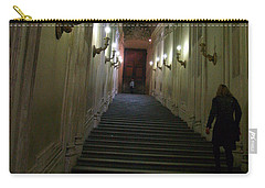 Carry-all Pouch featuring the photograph Stairway  by Robin Maria Pedrero