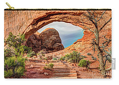 Stairway To Heaven - North Window Arch Carry-all Pouch