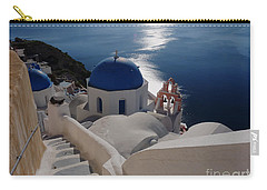 Stairway To The Blue Domed Church Carry-all Pouch