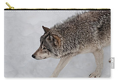 Carry-all Pouch featuring the photograph Stalker by Bianca Nadeau