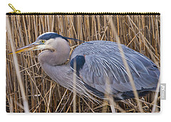 Stalking Fish In The Reeds Carry-all Pouch