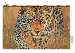 Stalking Leopard Carry-all Pouch