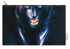 Stalking Panther Carry-all Pouch by Andrew Farley