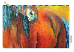 Stallions Concerto  Carry-all Pouch by Alison Caltrider