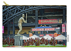 Stan Musial Statue At Busch Stadium St Louis Mo Carry-all Pouch