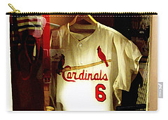 Stan The Man's Locker Stan Musial Carry-all Pouch by Iconic Images Art Gallery David Pucciarelli