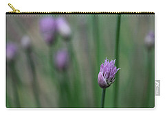 Not Just A Pretty Flower Carry-all Pouch by Debbie Oppermann