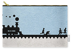 Stand By Me Carry-all Pouch by Ayse Deniz