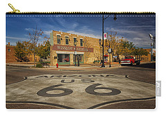 Standing On The Corner In Winslow Arizona Dsc08854 Carry-all Pouch