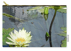 Carry-all Pouch featuring the photograph Standing Tall With Beauty by Chrisann Ellis