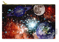 Star Field With Planets Carry-all Pouch