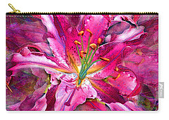 Star Gazing Stargazer Lily Carry-all Pouch