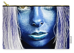 Star Girl Carry-all Pouch by Richard Thomas