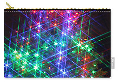Star Like Christmas Lights Carry-all Pouch by Patrice Zinck
