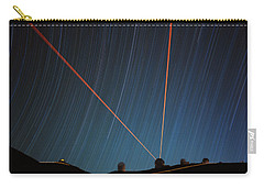 Star Trails Over Mauna Kea Observatory Carry-all Pouch