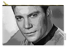 Star Trek William Shatner Pre 1970 Carry-all Pouch by R Muirhead Art