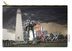 Carry-all Pouch featuring the photograph Star Wars All Terrain Armored Transport by Nicholas  Grunas