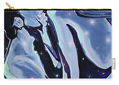 Carry-all Pouch featuring the digital art Starcrossed Lovers by Jane Schnetlage