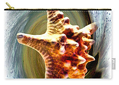 Carry-all Pouch featuring the digital art Starfish by Daniel Janda