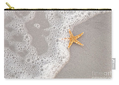 Starfish In The Surf Carry-all Pouch