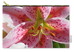 Stargazer Lily Carry-all Pouch by Barbara Griffin