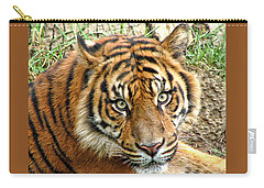 Staring Tiger Carry-all Pouch