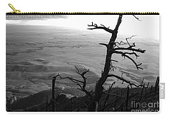 Carry-all Pouch featuring the photograph Stark Tree by Mary Carol Story