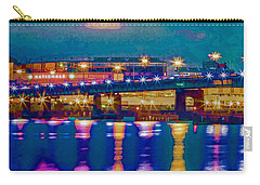 Starry Night At Nationals Park Carry-all Pouch