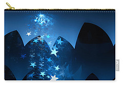Carry-all Pouch featuring the digital art Starry Night by GJ Blackman