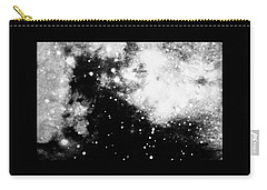Stars And Cloud-like Forms In A Night Sky Carry-all Pouch