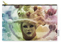 Carry-all Pouch featuring the digital art Stars Around Me by Barbara Orenya