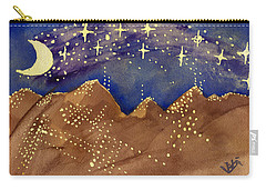 Stars Of Heaven And Earth Carry-all Pouch