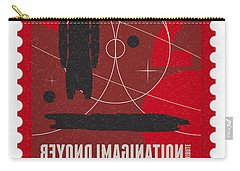 Starschips 02-poststamp - Battlestar Galactica Carry-all Pouch