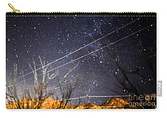 Stars Drunk On Lightpaint Carry-all Pouch by Angela J Wright