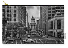 Carry-all Pouch featuring the photograph State Capitol Building by Howard Salmon