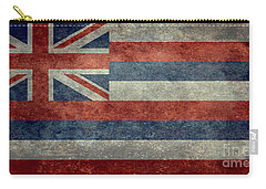 State Flag Of Hawaii Vintage Version Carry-all Pouch