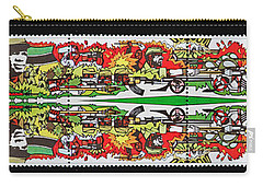 State Of Independence Postage Stamp Print Carry-all Pouch by Andy Prendy